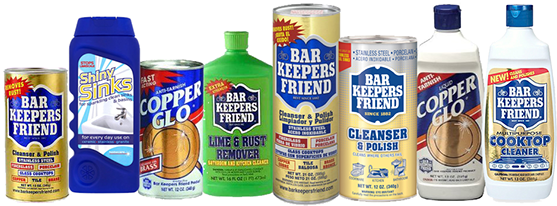 Bar Keeper's Friend Products